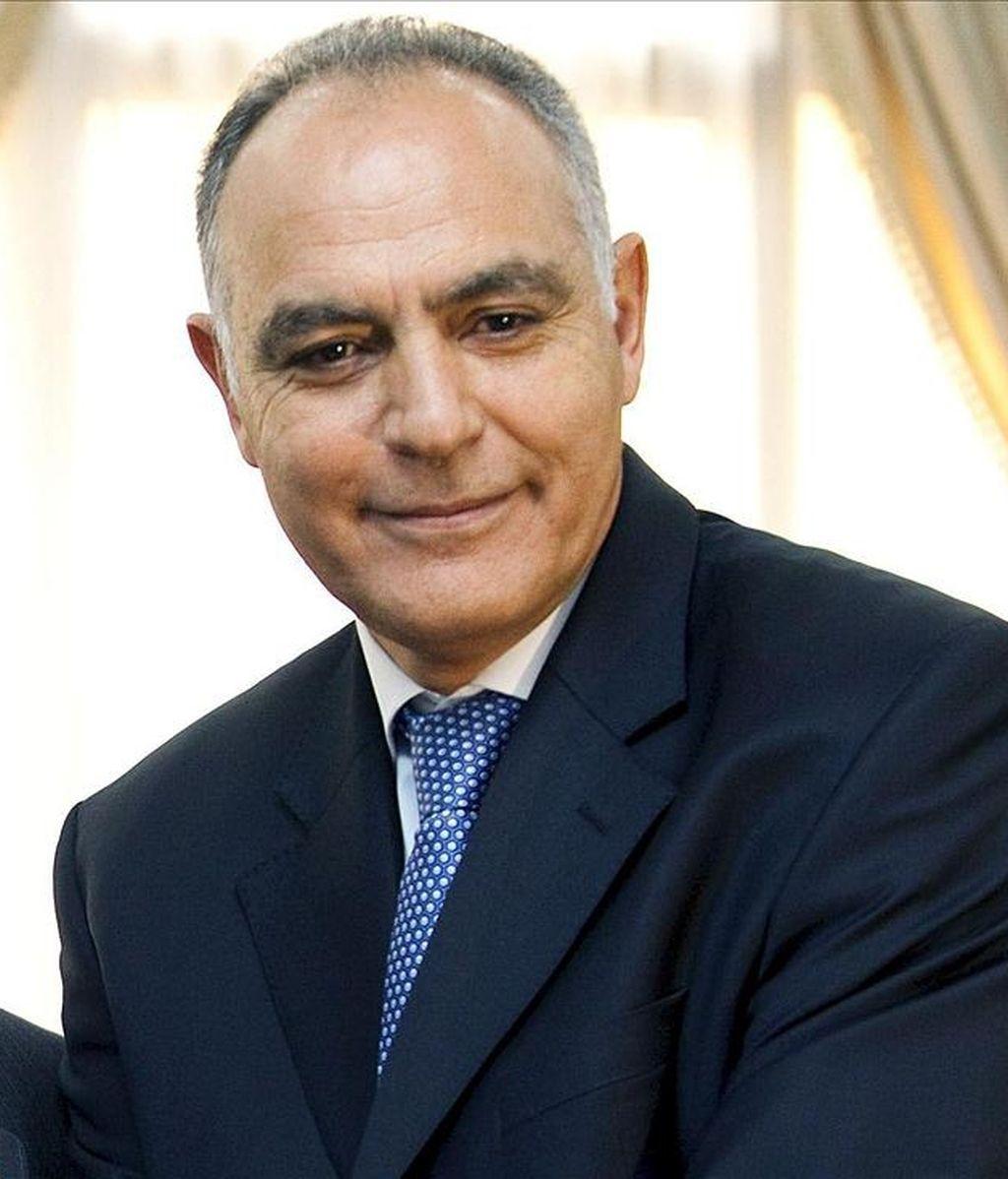 En la imagen, el ministro marroquí de Economía y Finanzas, Salahedín Mezuar. EFE/Archivo