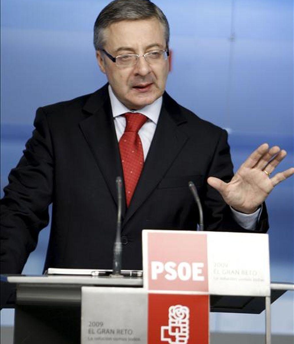 El vicesecretario general del PSOE, José Blanco. EFE/Archivo