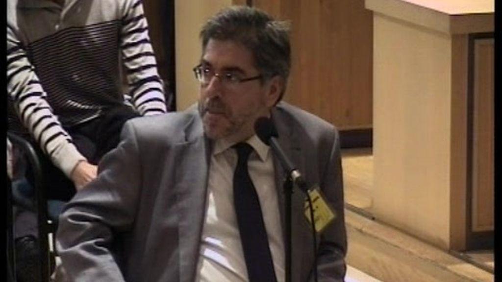 La declaración de Eguiguren como testigo en el juicio a Otegi