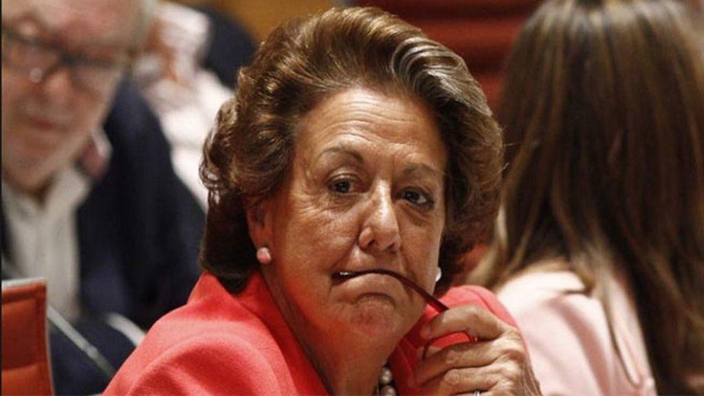 Rita Barberá, en sus tiempos de gloria