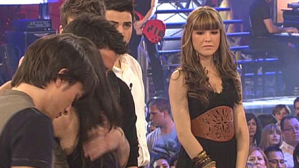 La despedida de Alba, foto a foto