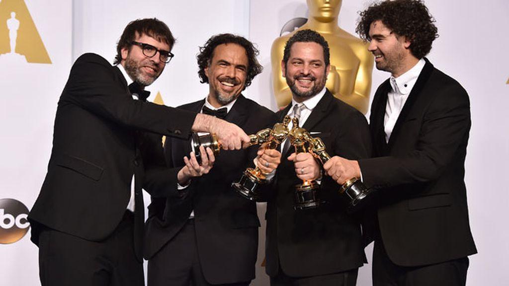 'Birdman' vuela en los Oscars