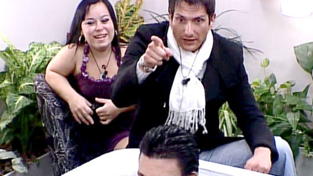 Iván y Almudena, inseparables