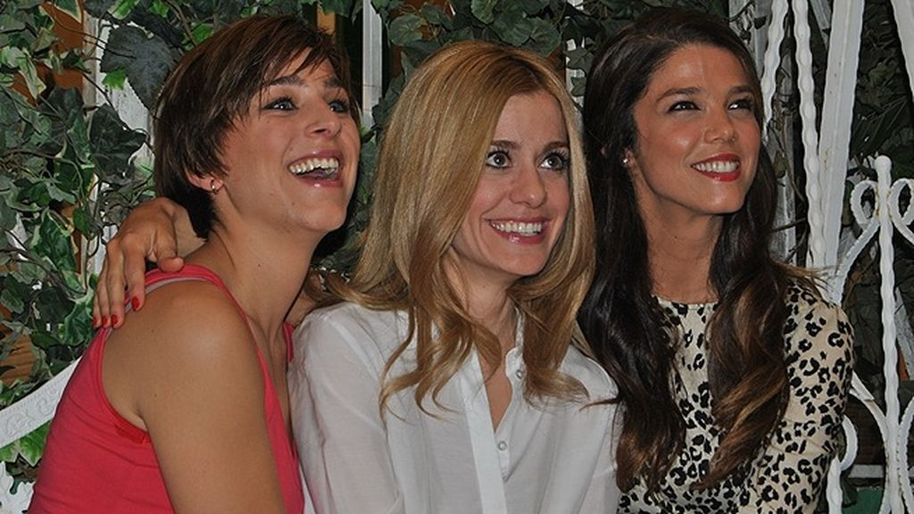 Carlota, Malena y Natalia, las hermanas Oquendo