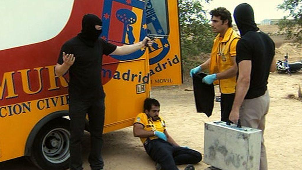 Raúl, secuestrado