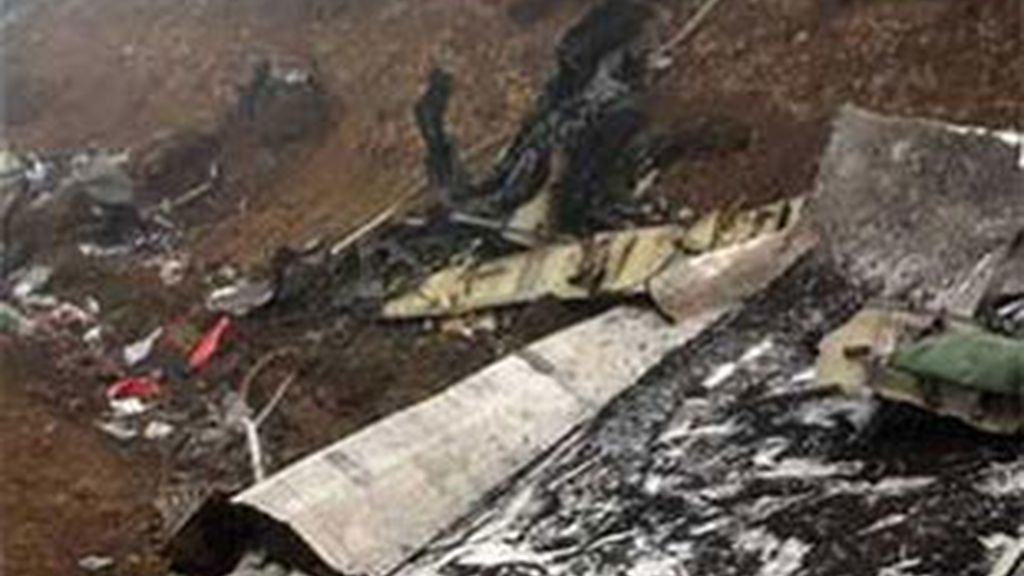 Imagen de archivo del accidente del Yak-42