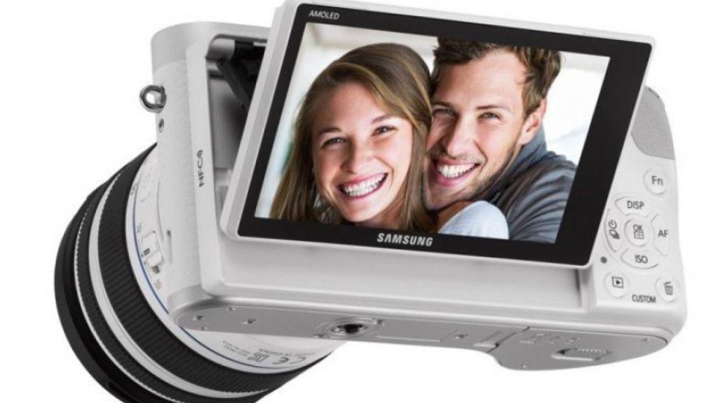 La cámara Samsung NX300M