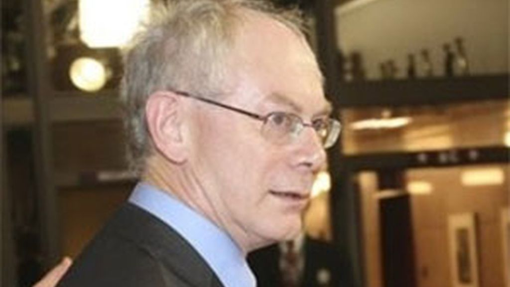 Van Rompuy ha logrado que Bélgica regresara a la normalidad.  Video: ATLAS.