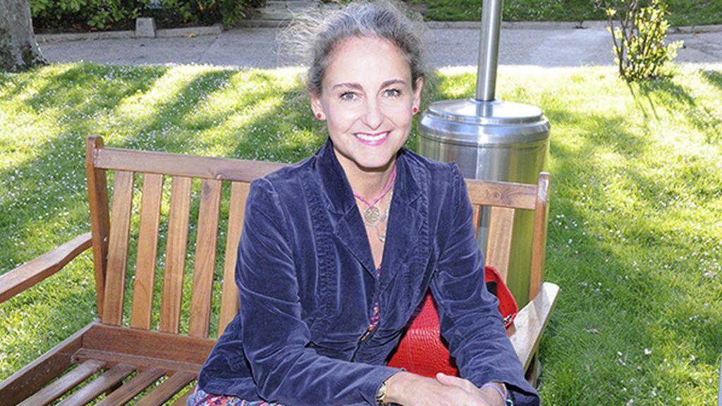 Carla Royo-Villanova disfrutó de una perfecta tarde en la embajada de la mano de Moët