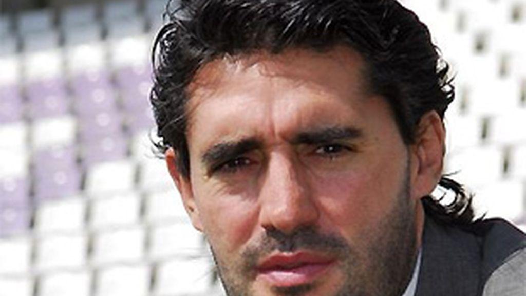Caminero, durante su etapa como director deportivo del Valladolid. FOTO: Archivo.