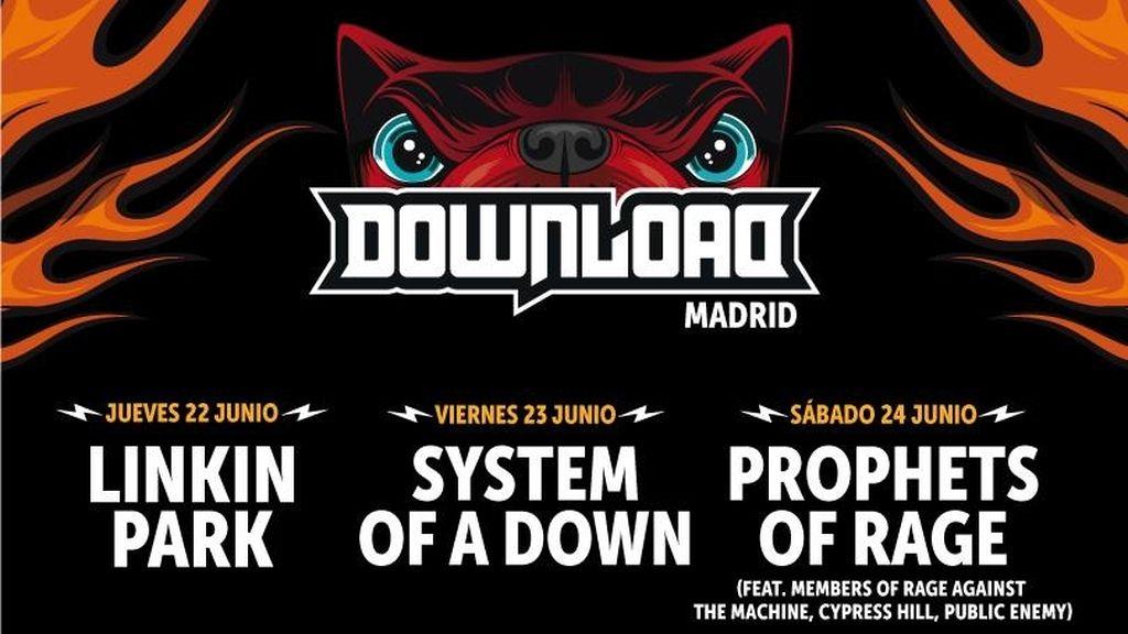 Linkin Park, Prophets of Rage, NOFX y Opeth, al Download Festival España