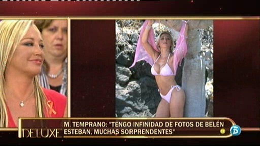 MIguel Temprano muestra en exclusiva unas fotos de Belén Esteban