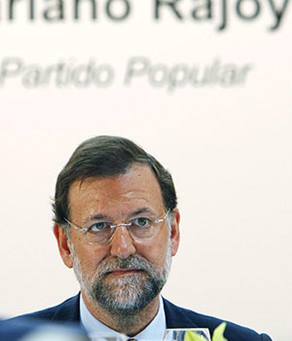 El líder del PP aún aprecia la labor de María San Gil. Foto: EFE