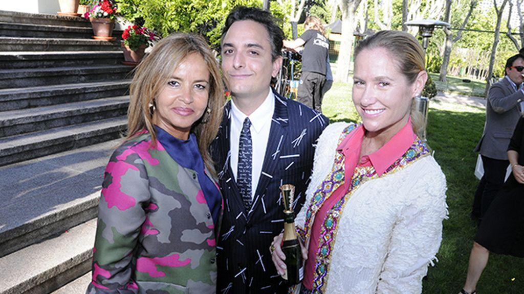 Begoña Trapote, Josie y Fiona Ferrer