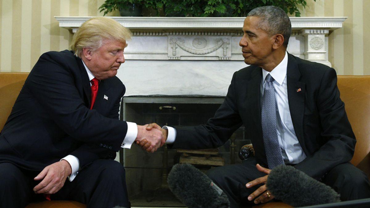 Primera visita a la Casa Blanca