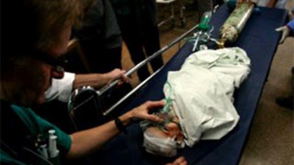 Un bebé sobrevive a un disparo mientras estaba en el vientre de su madre. Foto El Comercio