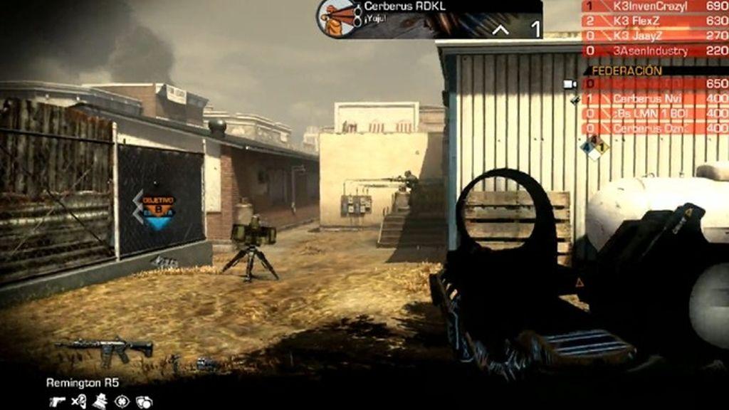 Call of Duty, Partido 40, Karont3, Cerberus