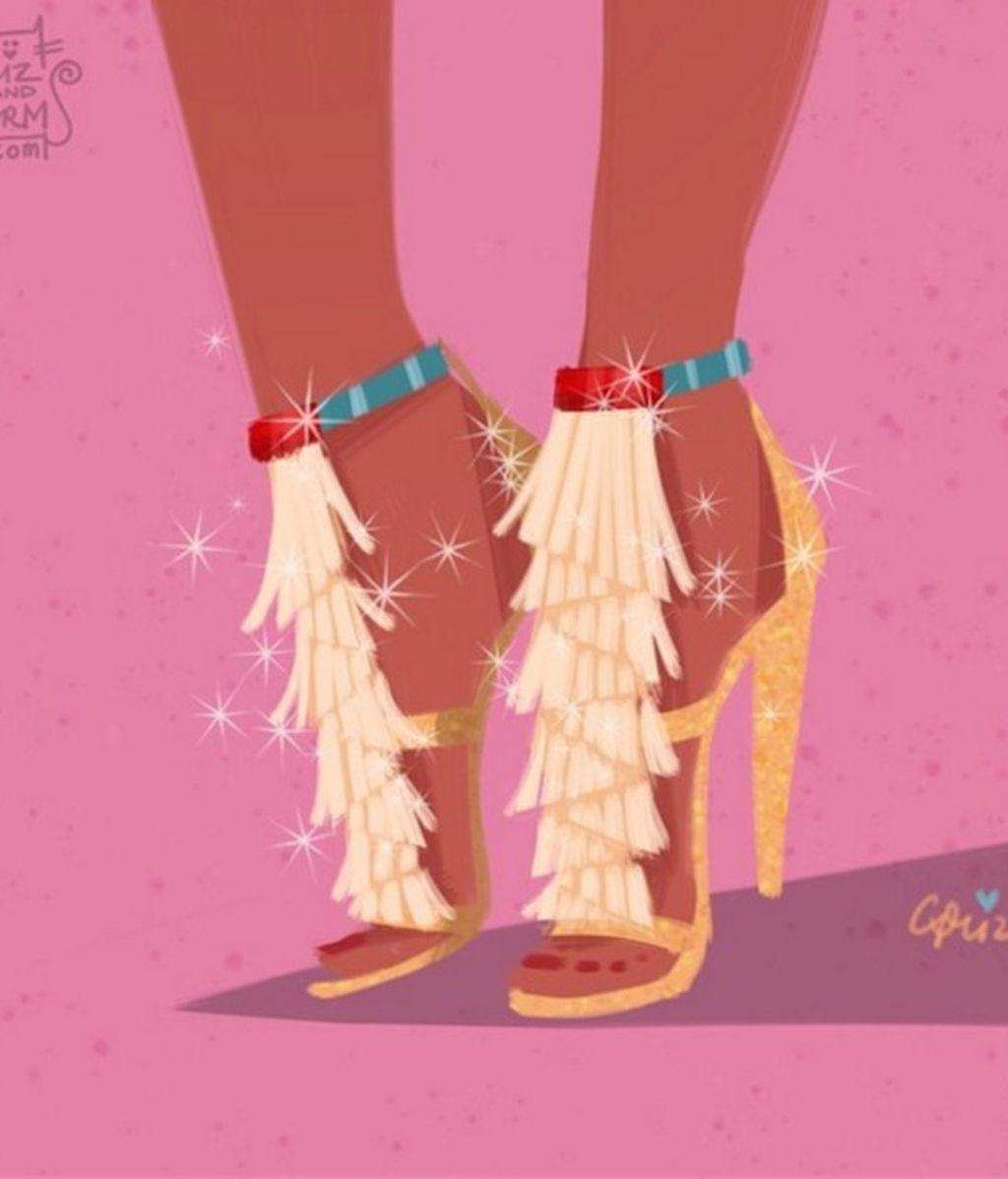 El toque indígena de Pocahontas inspira unos ideales Chloé
