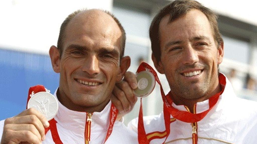 Iker Martínez y Xabier Fernández