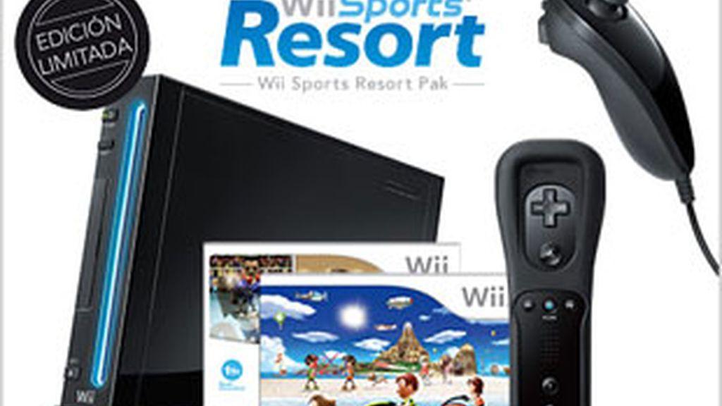 La Wii de color negro estará a la venta a partir del 20 de noviembre en Europa. Foto: Nintendo.