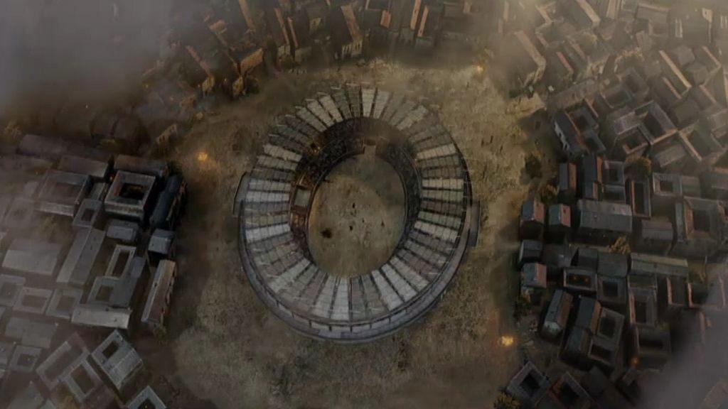 Los gladiadores luchan con fuego en los Juegos de Capua
