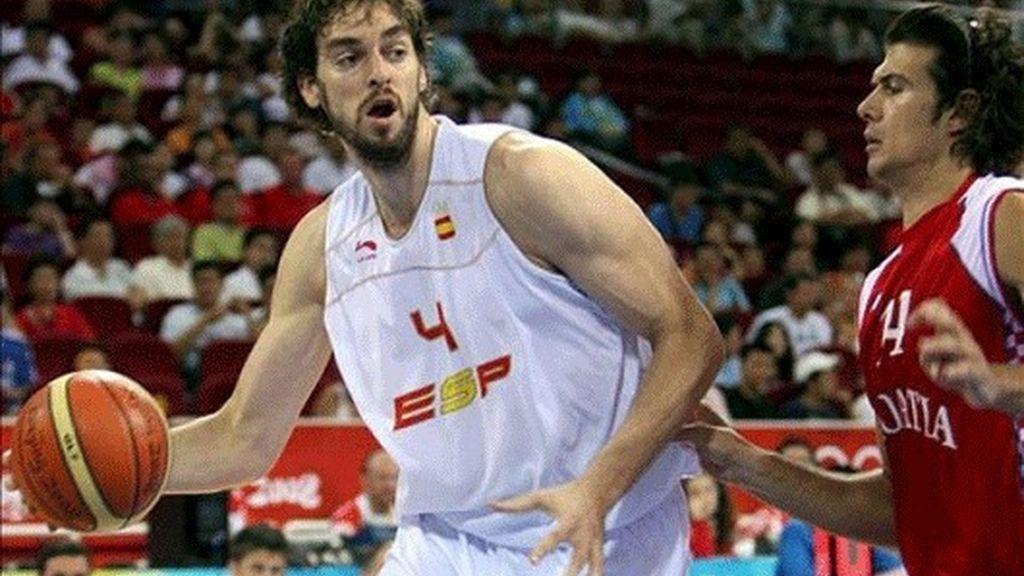 72-59. España vence a Croacia y firma la segunda semifinal de la historia