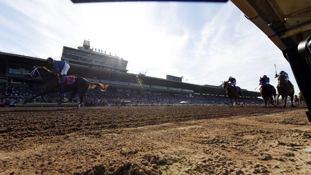 Una carrera de caballos desde dentro