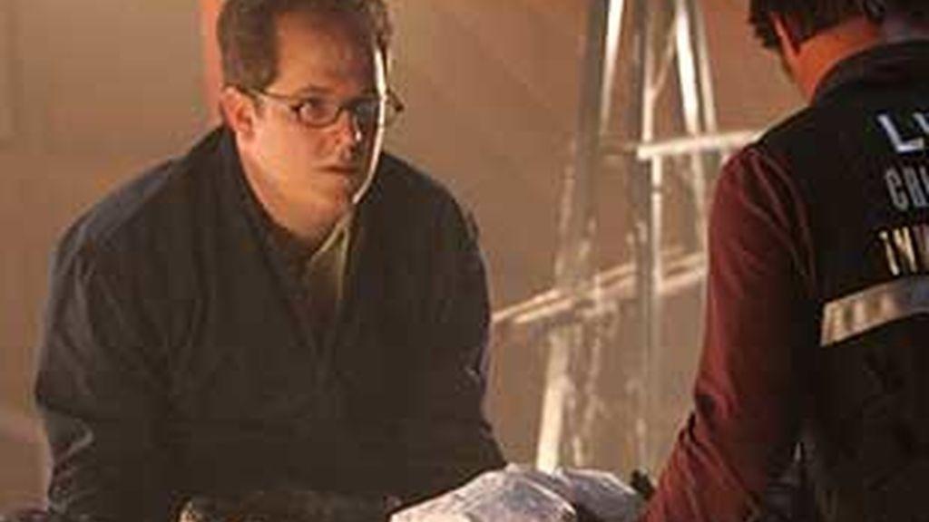 Los CSI se enfrentan a un cadáver en una chimenea