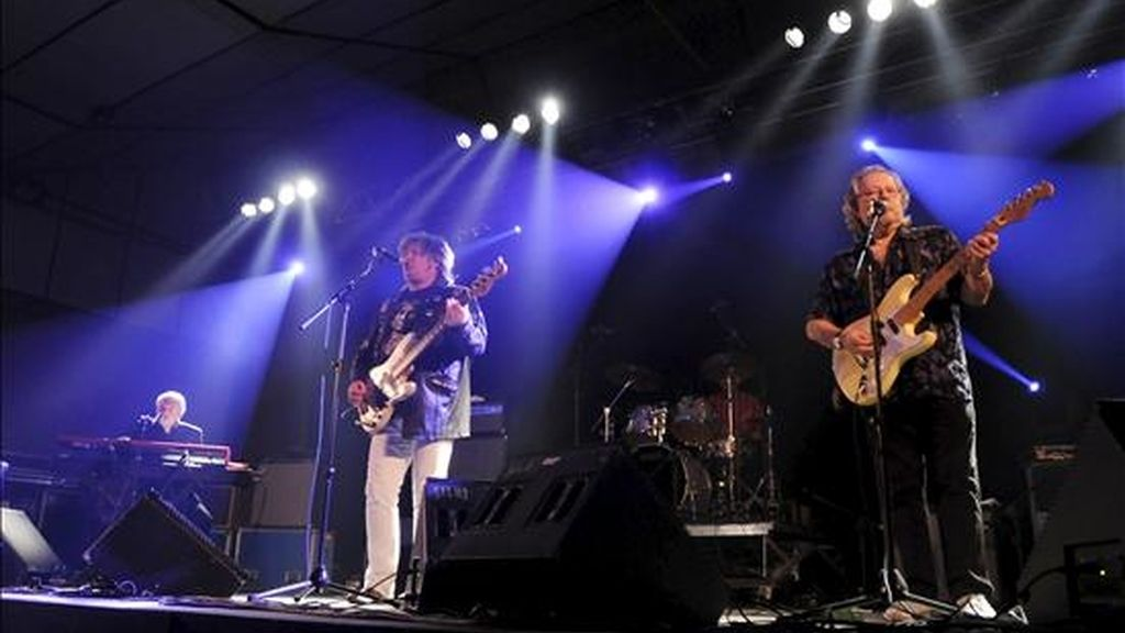 La mítica banda inglesa, The Animals en el festival Purple Weekend 2010 de León. EFE