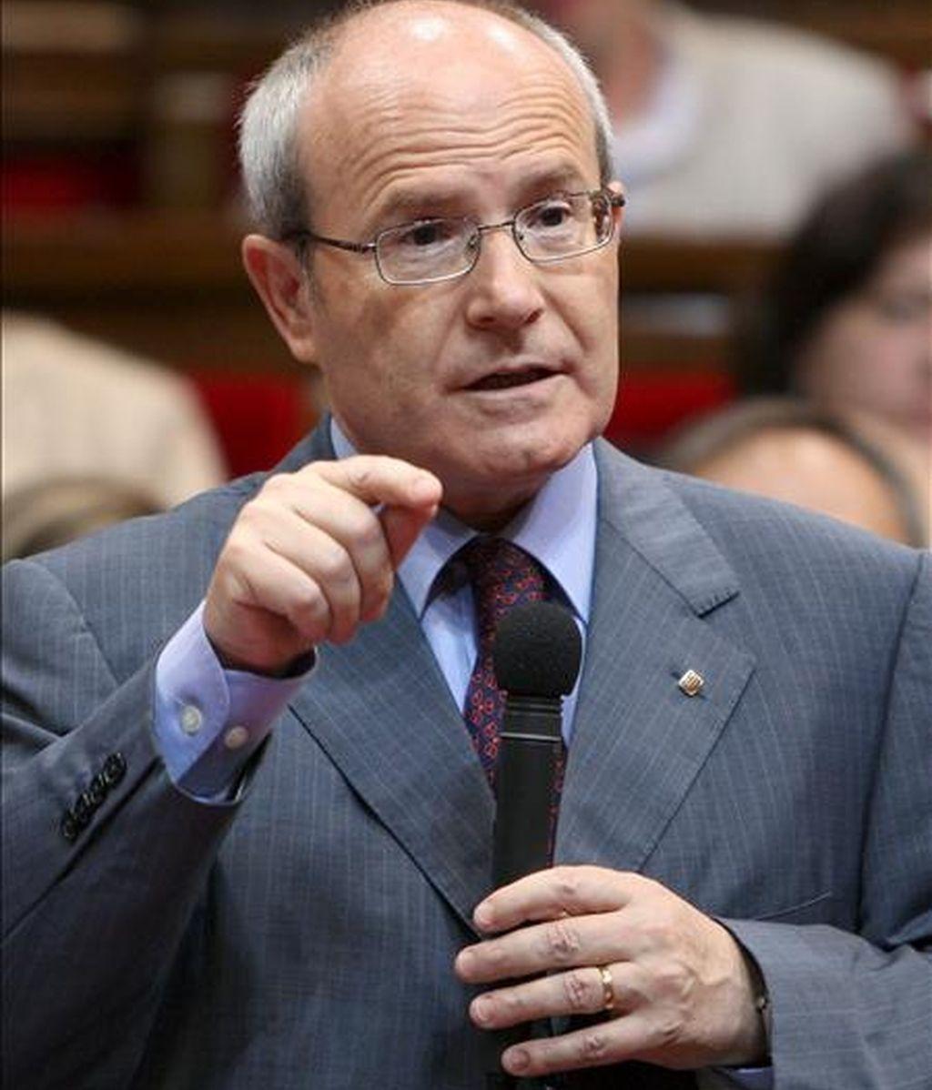 El presidente de la Generalitat, José Montilla. EFE/Archivo