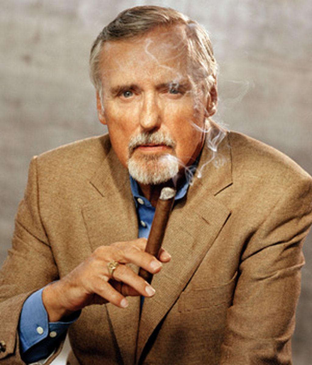 Dennis Hooper, en una foto reciente, tras confirmarse su personaje en una serie de Televisión basada en la película 'Crash'-.