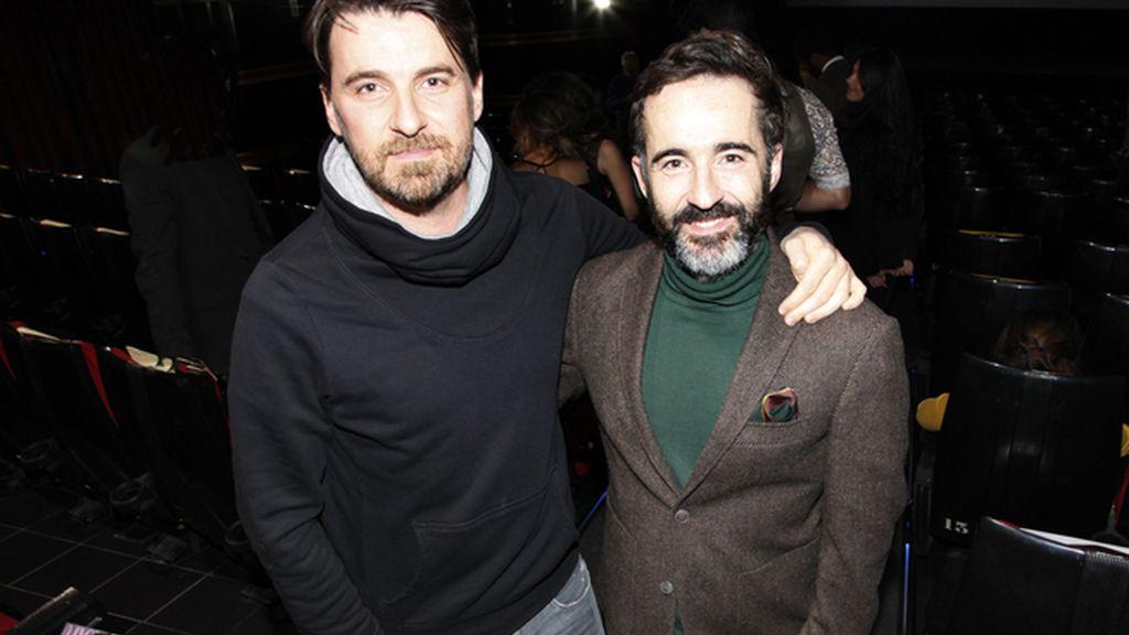 Ramón Salazar y Pepe Ocio