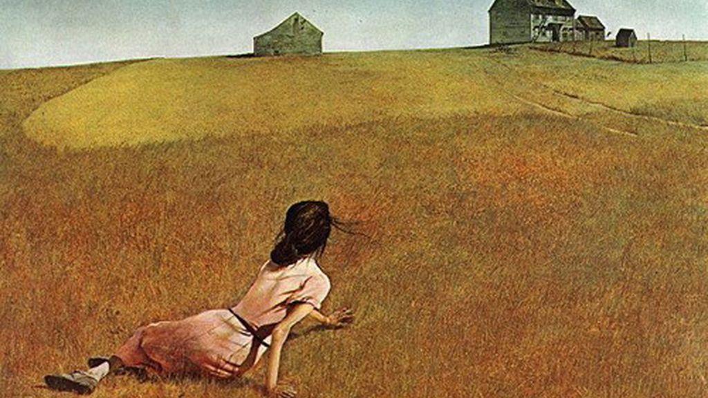 Imagen de uno de sus cuadros más famosos 'El mundo de Christine'.