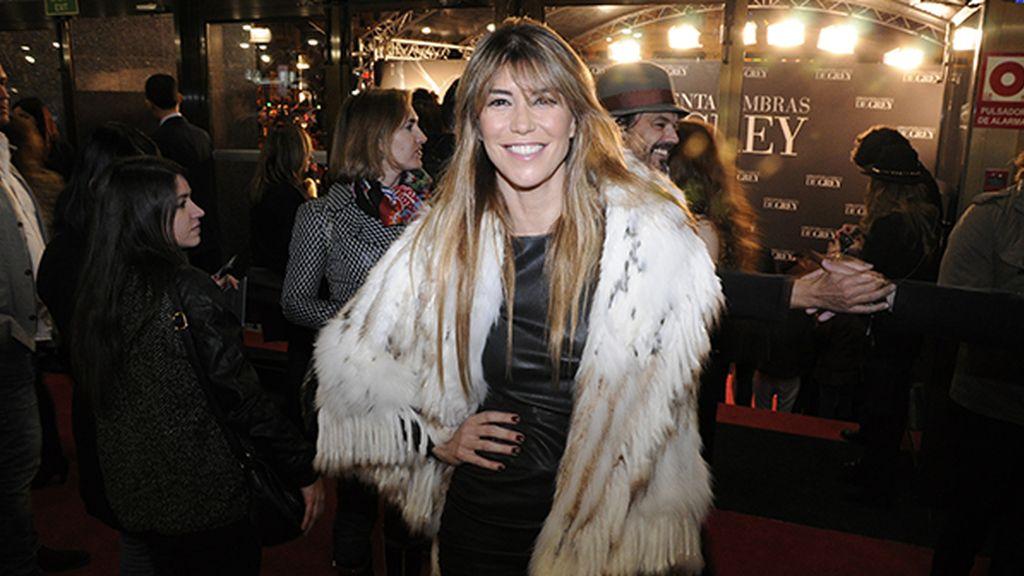 Raquel Meroño se enfrentó a las bajas temperaturas con este impresionantes abrigo