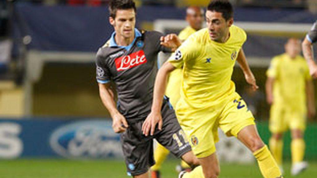 El Villarreal se despide de la 'Champions'. Foto: Reuters.