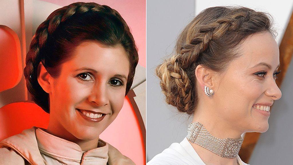 La trenza corona no es un nuevo invento, Leia ya la llevó