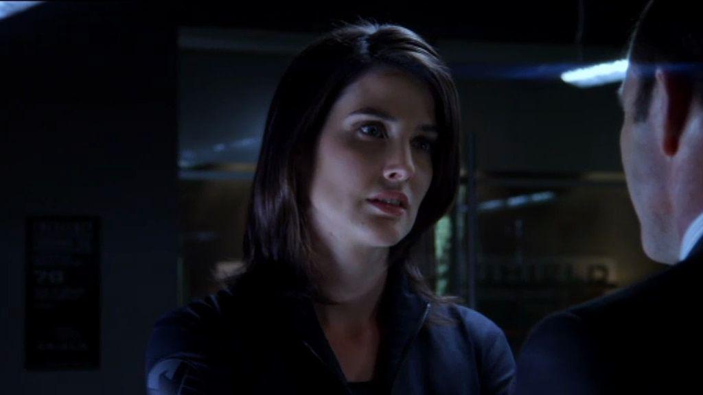 Cobie Smulders es Maria Hill, la directora de la Agencia S.H.I.E.L.D.