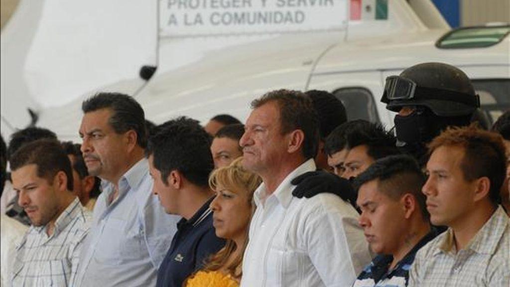 """Detenidos 44 presuntos narcotraficantes de la organización criminal conocida como """"La Familia Michoacana"""". Vídeo: Informativos Telecinco."""