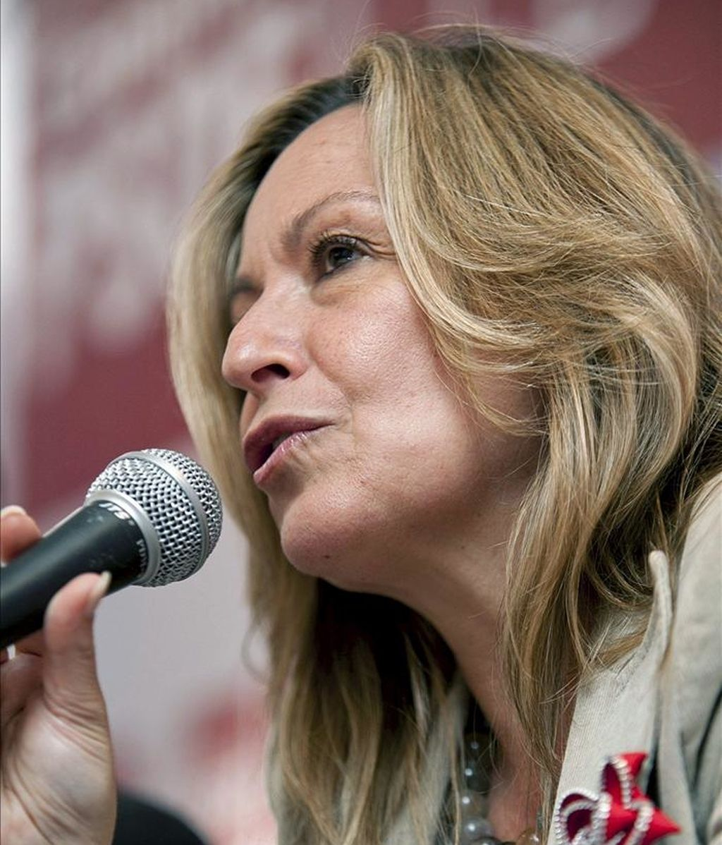La ministra de Asuntos Exteriores, Trinidad Jiménez. EFE/Archivo