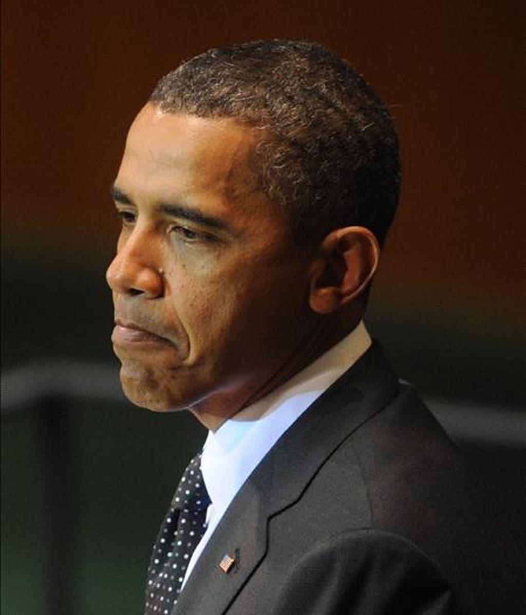 En un comunicado en el que informó de la reunión, la Casa Blanca señala que Obama insistió en que el Gobierno de EE.UU. hará todo lo posible por conseguir la libertad de los dos compañeros de Shourd, Josh Fattal y Shane Bauer. EFE/Archivo