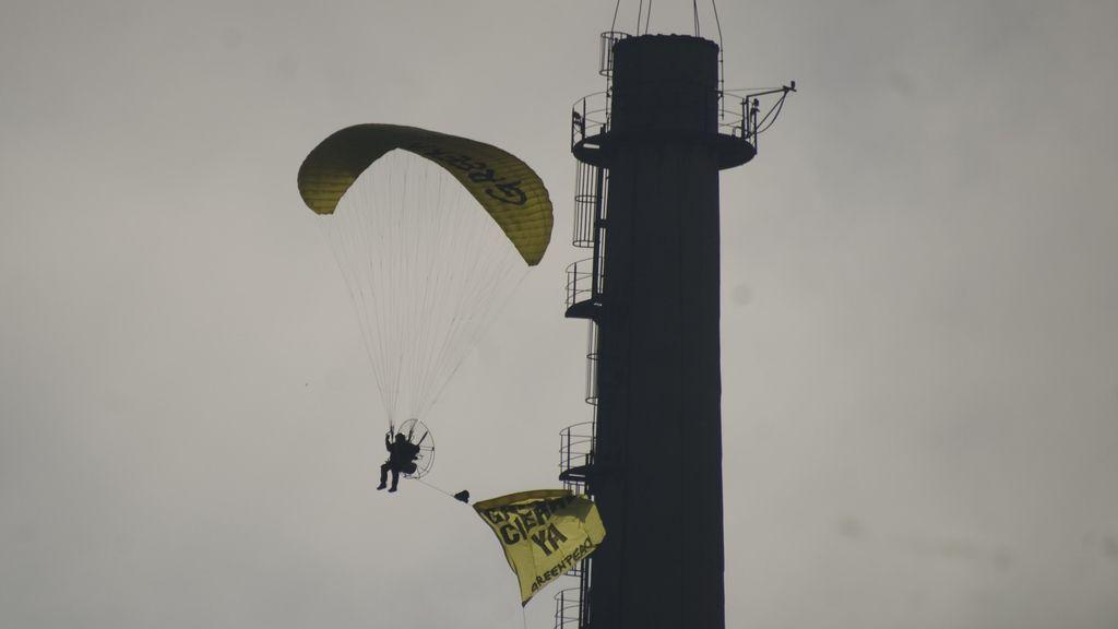 Acción de Greenpeace en Garoña