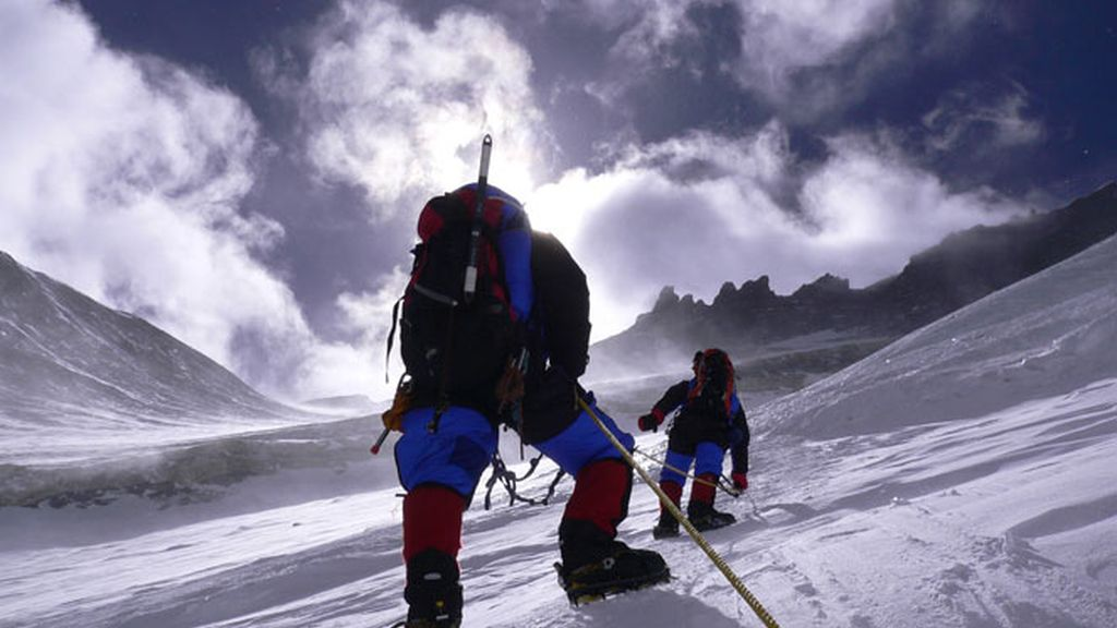 Everest o la pared de hielo