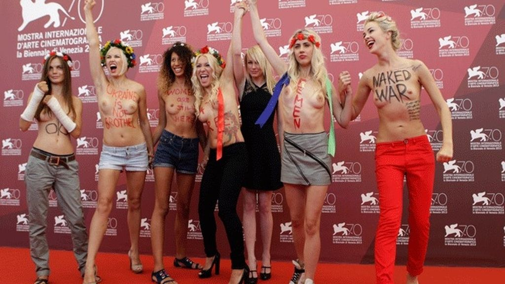 La presentación de la película 'Ucrania no es un burdel' se cuela en el Festival de Venecia