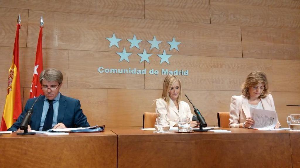 Cristina Cifuentes comparece en rueda de prensa tras el consejo de gobierno de la comunidad de Madrid