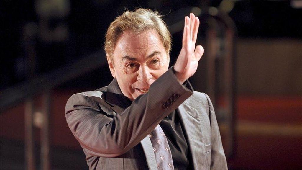 El compositor británico Andrew Lloyd Webber. EFE/Archivo
