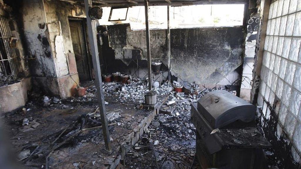 Mueren una pareja y su hija en el incendio en una vivienda en Jerez