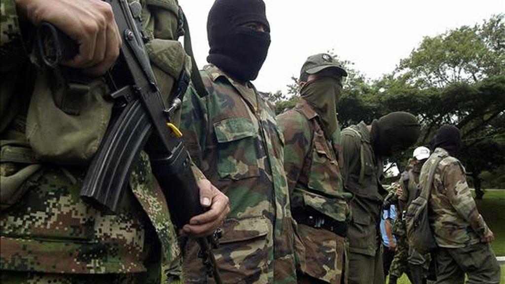 Según Caracol Radio además de los integrantes de ETA, a los campamentos de las Fuerzas Armadas Revolucionarias de Colombia (FARC), también acudían delegados de ONG de distintos países, entre ellos Dinamarca. EFE/Archivo