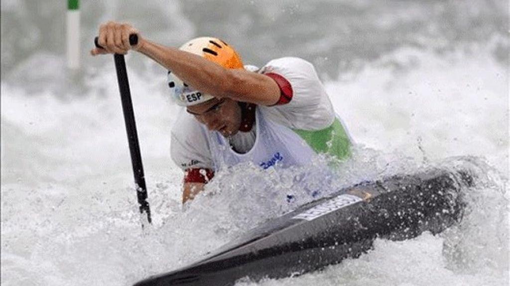 Ander Elosegui clasifica al piragüismo español para su primera final