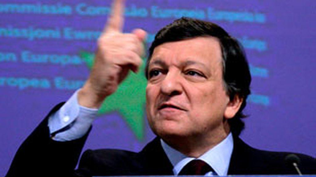 """Barroso reafirmó """"su confianza en la capacidad de Portugal de superar las actuales dificultades, con la solidaridad de sus  socios"""". Vídeo: ATLAS."""