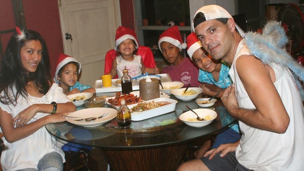 Así celebra Frank de la jungla la Navidad en familia